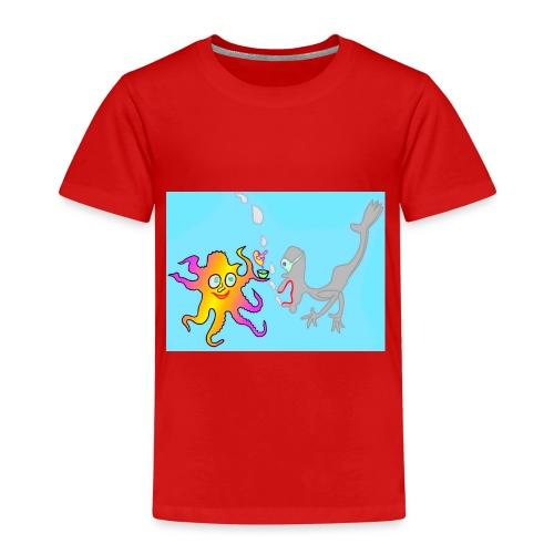 Unter Wasser - Kinder Premium T-Shirt