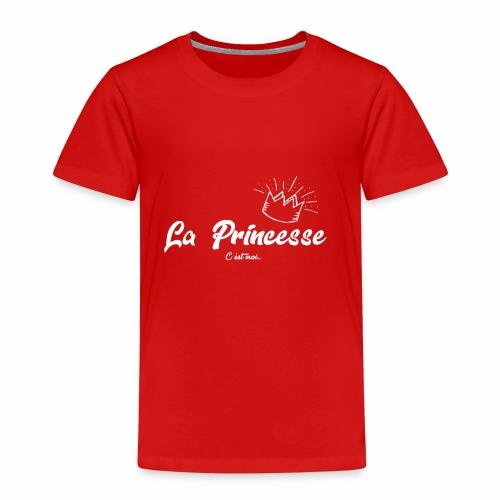 princesse couronne BLANC - T-shirt Premium Enfant