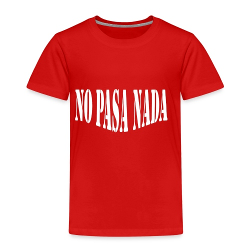 scritta per maglione png BIANCO - Maglietta Premium per bambini