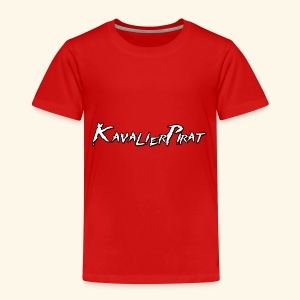 KavalierPirat Schriftzug - Kinder Premium T-Shirt