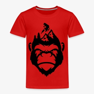 MonkeyzGoDownhill Head - Kinder Premium T-Shirt