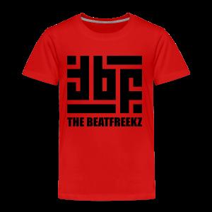 the beatfreekz logo 3 black - Kinder Premium T-Shirt