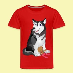 Little Husky - Kinder Premium T-Shirt