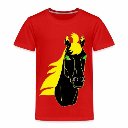 Pferdekopf,Pferd,Hengst,Tier,Natur,Pferderasse - Kinder Premium T-Shirt