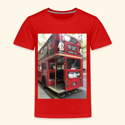 * LIMITED TIME * London Bus - Kids' Premium T-Shirt