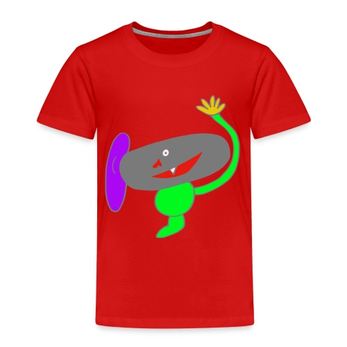 Monster bunt - Kinder Premium T-Shirt