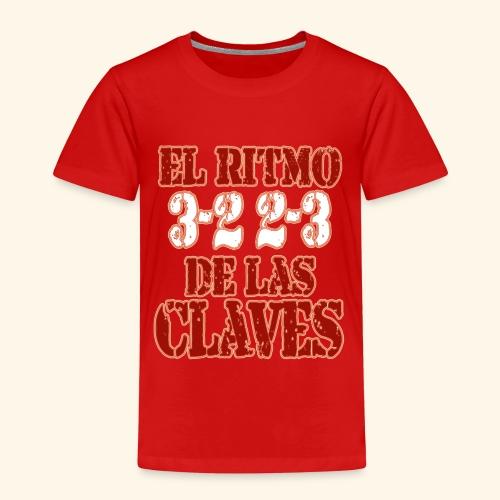 Salsa clave rhythm salsa music dance gift - Kids' Premium T-Shirt