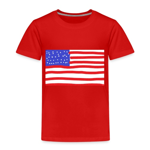 Usa- Flagge - Kinder Premium T-Shirt