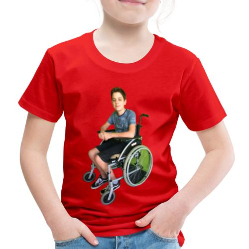 Michael Brown Rollstuhl (Version ein) - Kinder Premium T-Shirt