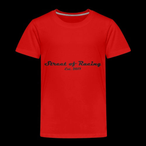 Street of Racing - collection one - Kinder Premium T-Shirt