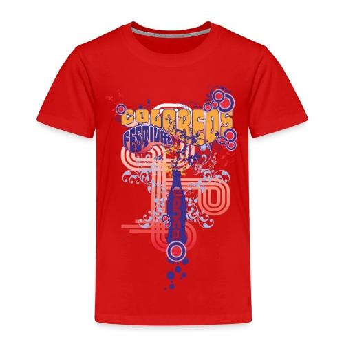 FESTIVAL DANCE / coloreos Hermoso diseño - Camiseta premium niño