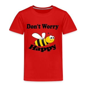 Don t worry Bee Happy -izzidruk- - Kinderen Premium T-shirt
