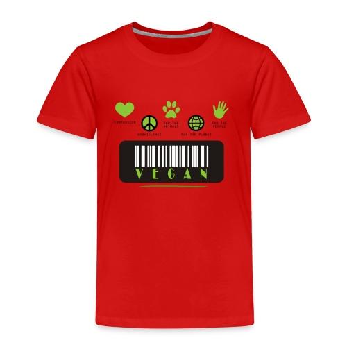 Vegane Sammlung - Kinder Premium T-Shirt