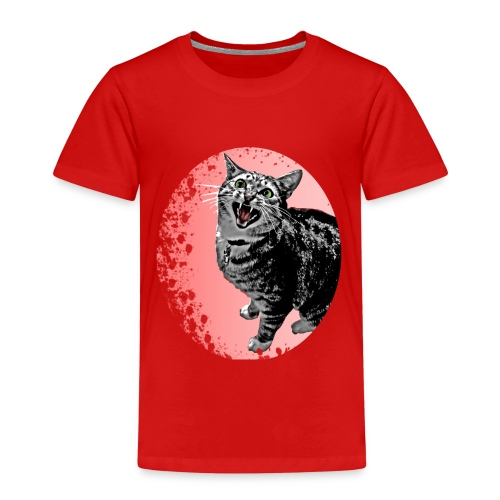 Meow Cat - Kinder Premium T-Shirt