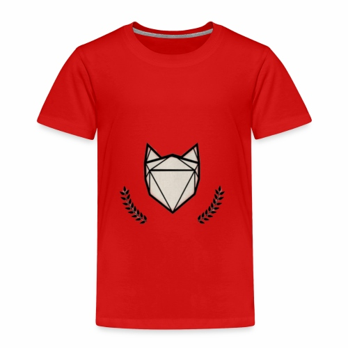 Fuchs mit Kranz - Kinder Premium T-Shirt