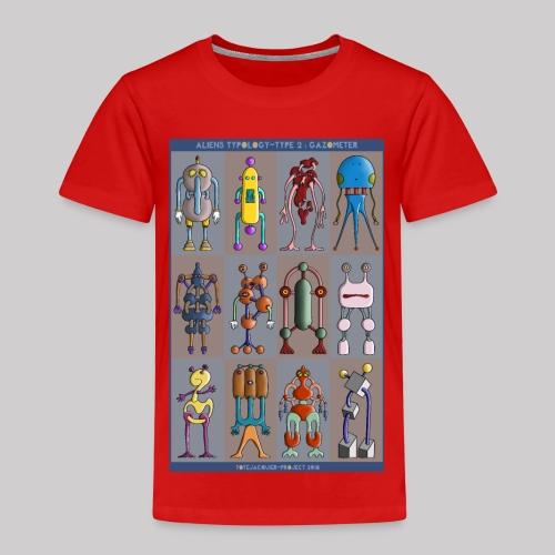 2 ALIEN TYPOLOGY GAZOMETER - T-shirt Premium Enfant