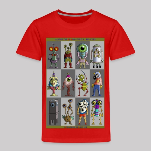ALIEN TYPOLOGY TYPE 3: BIGEYES - T-shirt Premium Enfant