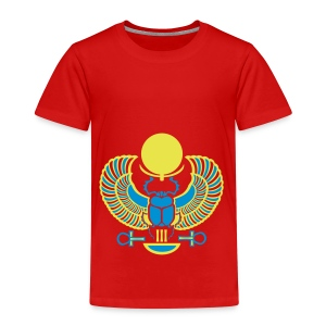 Geflügelter Skarabäus - Kinder Premium T-Shirt