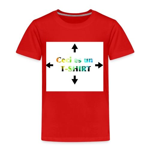 Ceci es un t-shirt - T-shirt Premium Enfant