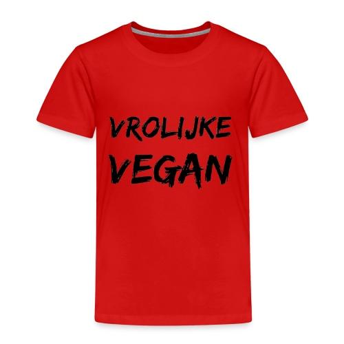 vrolijke vegan - Kinderen Premium T-shirt