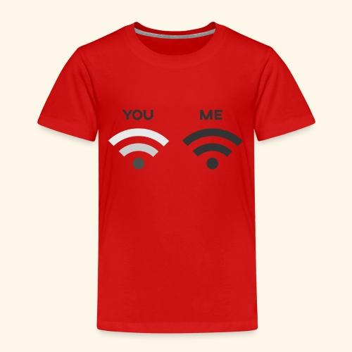 You vs. Me, Bad Wifi - Kids' Premium T-Shirt