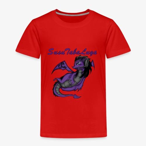 Drachengang Mit Namen - Kinder Premium T-Shirt