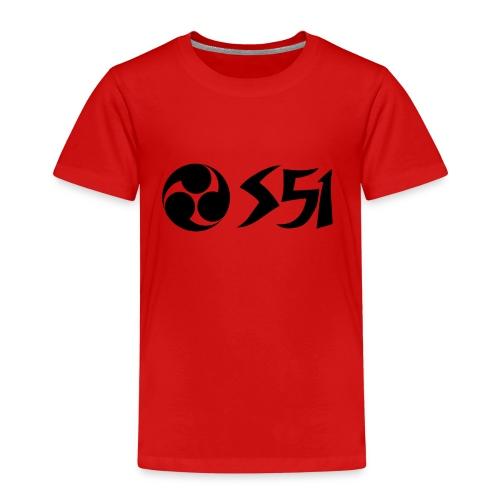 Ronin Simson Wirbel S51 - Kinder Premium T-Shirt