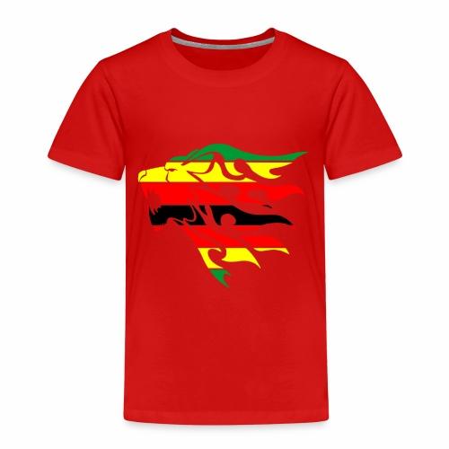 zimbabwe flag lion - Kids' Premium T-Shirt