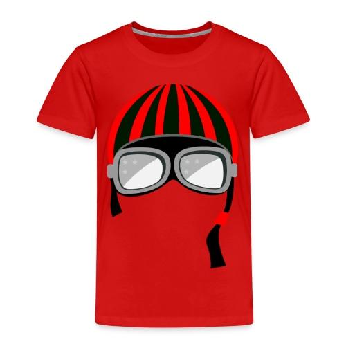 red_helmet-png - Maglietta Premium per bambini