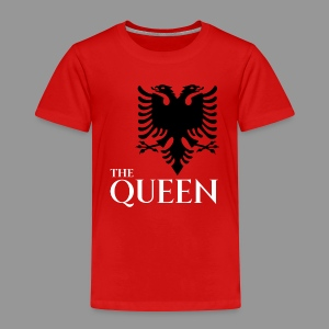 the queen of of albania kosovo albanisch t-shirt - Kinder Premium T-Shirt