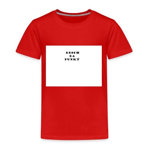 Desch da Punkt - Kinder Premium T-Shirt