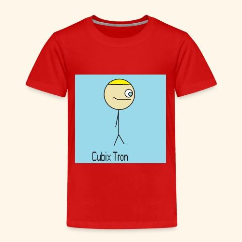T Shirt Cubix Tron - Camiseta premium niño