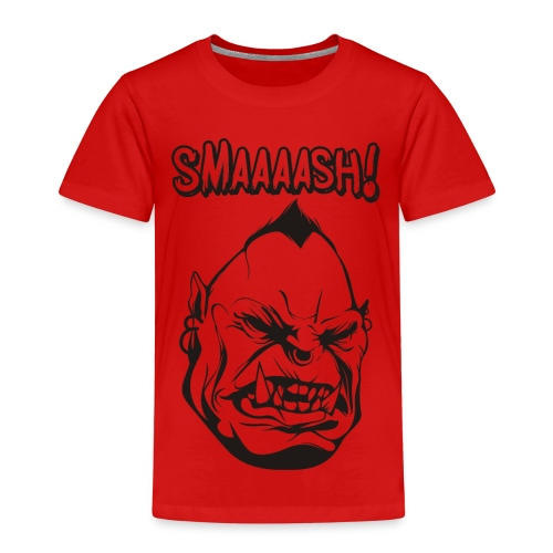 Smaaaash - Premium-T-shirt barn