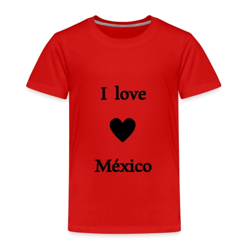 I love Mexico - Camiseta premium niño