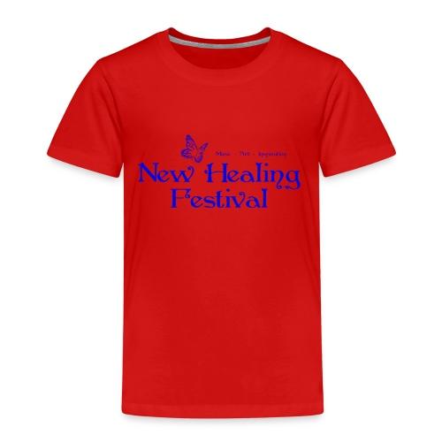 New Healing Logo blau - Kinder Premium T-Shirt