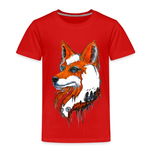 David Pucher Art Fuchs - Kinder Premium T-Shirt