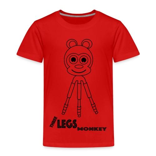 Three Legs Monkey (TLM) - Lasten premium t-paita