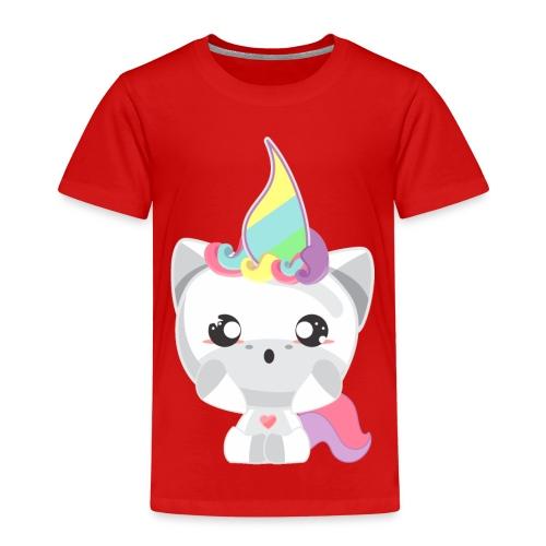 EINHORN UNICORN /Grafik Druck/Print - Kinder Premium T-Shirt
