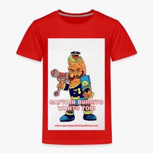 Captain Burrito - Kids' Premium T-Shirt