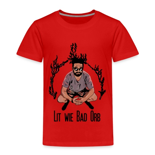 Lit wie Bad orb - Kinder Premium T-Shirt