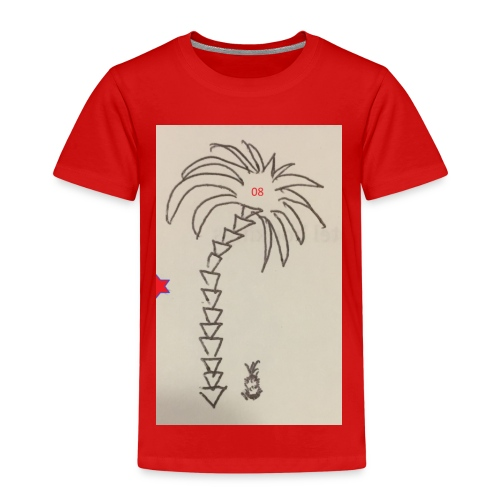 08 Pineapple - Kinder Premium T-Shirt