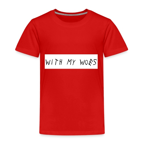 With My Woes - Kinderen Premium T-shirt
