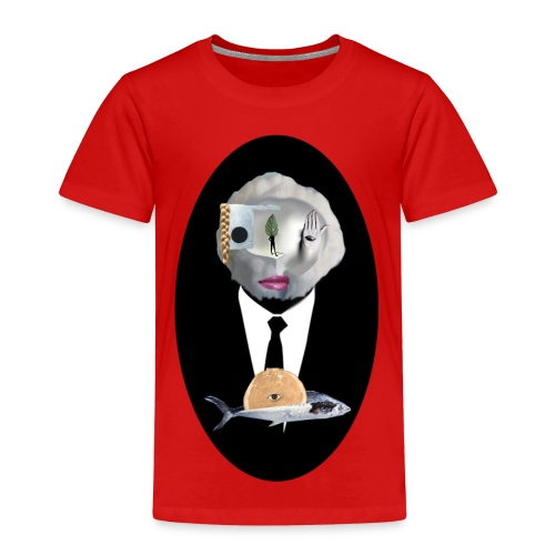Looking in the mirror - Kinder Premium T-Shirt
