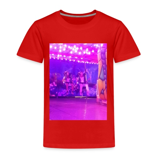 Fête foraine manège magie plein de couleurs rose . - T-shirt Premium Enfant