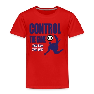 Control the game national Team England 2018 - Kids' Premium T-Shirt