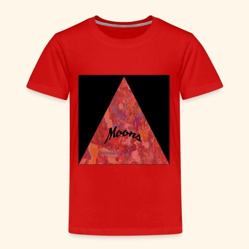 Moons rojo tri - Camiseta premium niño