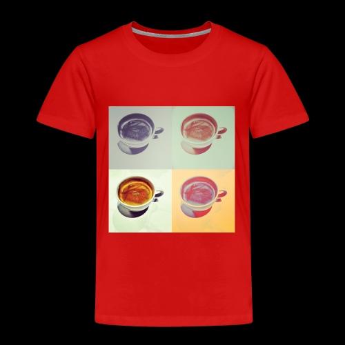Kaffee in vier Jahreszeiten - Kinder Premium T-Shirt