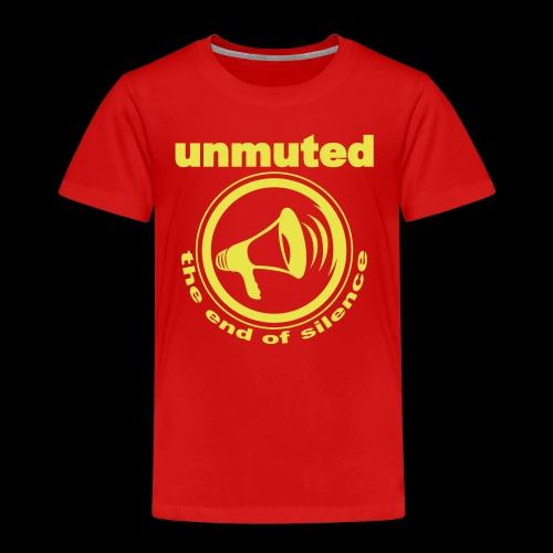 unmuted - Kinder Premium T-Shirt