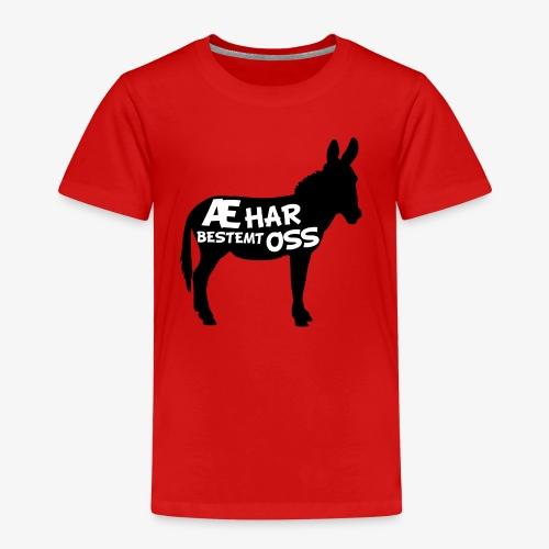 Esel-politikk - Premium T-skjorte for barn