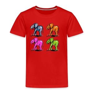 Elefantenkinder - Kinder Premium T-Shirt